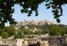 Akropolis, Athene Stock Foto