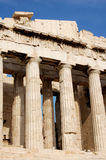Akropolis in Athene Royalty-vrije Stock Afbeelding