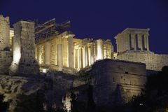 Akropolis, Athene, Griekenland Royalty-vrije Stock Fotografie