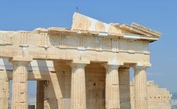 Akropolis in Athene, Griekenland op 16 Juni, 2017 Stock Afbeelding