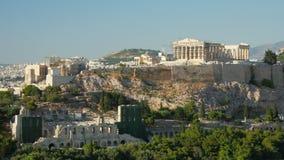 Akropolis, Athene, Griekenland, Timelapse, 4k stock footage