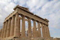 Akropolis en parthenon Athene Griekenland Stock Afbeelding