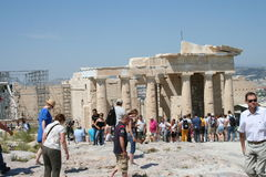 Akropolis, Greece Royalty Free Stock Image