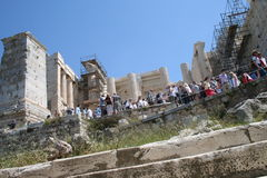 Akropolis, Greece Stock Photo