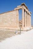 Akropolis, Oude Tempel van Athena Royalty-vrije Stock Fotografie