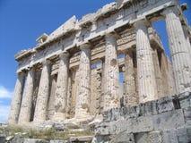 Akropolis, parthenon royalty-vrije stock afbeelding