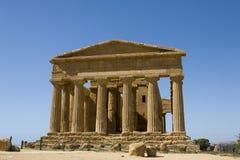 Akropolis in Sizilien Stockbild