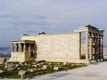 Akropolis van Athen met Tempel Parthenon Royalty-vrije Stock Afbeelding