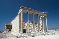 Akropolis van Athene Stock Foto's