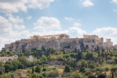 Akropolis van Athene Stock Fotografie