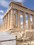 Akropolis van Athene royalty-vrije stock afbeeldingen