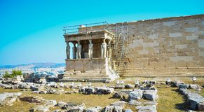 Akropolis von Athen, Stockfoto