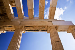 Akropolis von Athen. Stockbilder