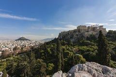 Akropolis von Athen Stockbilder