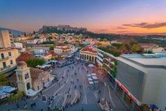 Akropolis von Athen Lizenzfreie Stockbilder