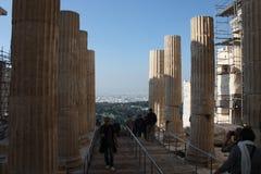 Akropolis von Athen Griechenland Stockbild