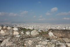 Akropolis von Athen Griechenland Lizenzfreies Stockfoto