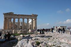 Akropolis von Athen Griechenland Lizenzfreie Stockbilder