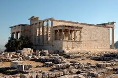 Akropolistempel von Athene Stockfotos