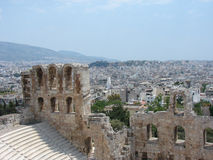 Akropolistheater Stockfotos