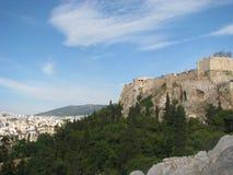 Akropolsikt Royaltyfri Fotografi