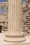 Akropolu Architektoniczny Szpaltowy szczegół Fotografia Stock