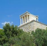 akropolu Athens budynku Greece widok Zdjęcia Royalty Free