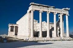 akropolu Athens kariatyd erechteion Greece Obraz Royalty Free