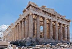 akropolu Athens parthenon Fotografia Royalty Free