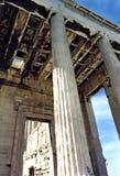 akropolu drzwi Zdjęcia Royalty Free