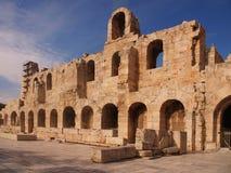 akropolu fasady theatre Obraz Royalty Free