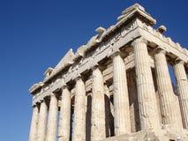 Akropolu Parthenon Ateny Grecja Fotografia Royalty Free