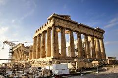 Akropolu Parthenon w Ateny, Grecja Obraz Stock