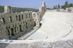 akropolu theatre Obrazy Royalty Free