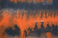 Akryl målad pappkonstbakgrund och textur Arkivbilder