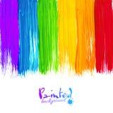 Akryl målade band, vektorbakgrund Royaltyfria Foton