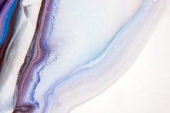 Akryl målarfärg, abstrakt begrepp Closeup av målningen Färgrik abstrakt målningbakgrund Hög-texturerad olje- målarfärg Du kan sät royaltyfri fotografi