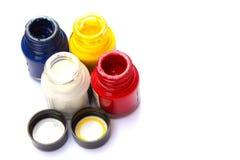 Akrylowa farba. Zdjęcie Stock
