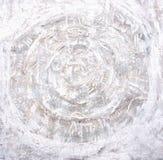 akrylowego tła odosobniony obrazu biel Ogniści okręgi na textured tle Obrazy Royalty Free