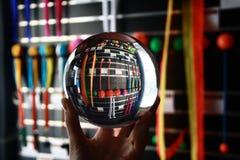 Akrylowy balowego kontaktu żonglować Fotografia Stock