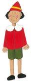 akrylowy ilustracyjny pinocchio Zdjęcie Stock