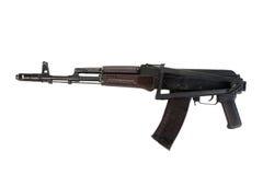 Fucile di assalto disperso nell'aria del Kalashnikov Fotografia Stock Libera da Diritti