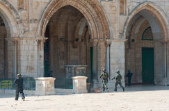 Aksa meczet Zdjęcie Royalty Free