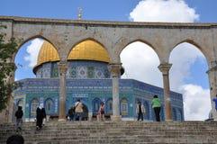 Aksa meczet w starym mieście Jerozolima, Izrael obraz stock