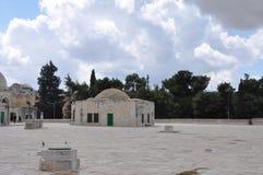 Aksa meczet w starym mieście Jerozolima, Izrael obrazy royalty free