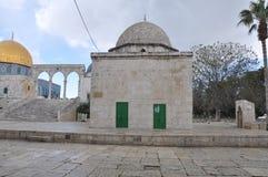 Aksa meczet w starym mieście Jerozolima, Izrael zdjęcie stock