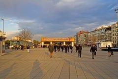 Aksaray metro station Royalty Free Stock Photos