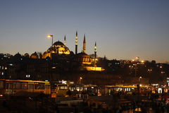 Aksaray Valide Mosque, Istanbul, Turkey royalty free stock images