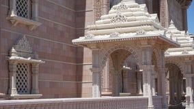 Akshardham świątynia w Robbinsville, Nowym - bydło Fotografia Royalty Free