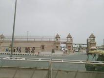 Akshardham or Swaminarayan Akshardham complex royalty free stock photo